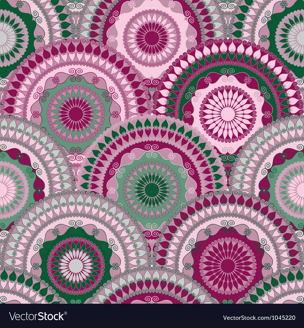 Vivid seamless pattern vector | Price: 1 Credit (USD $1)
