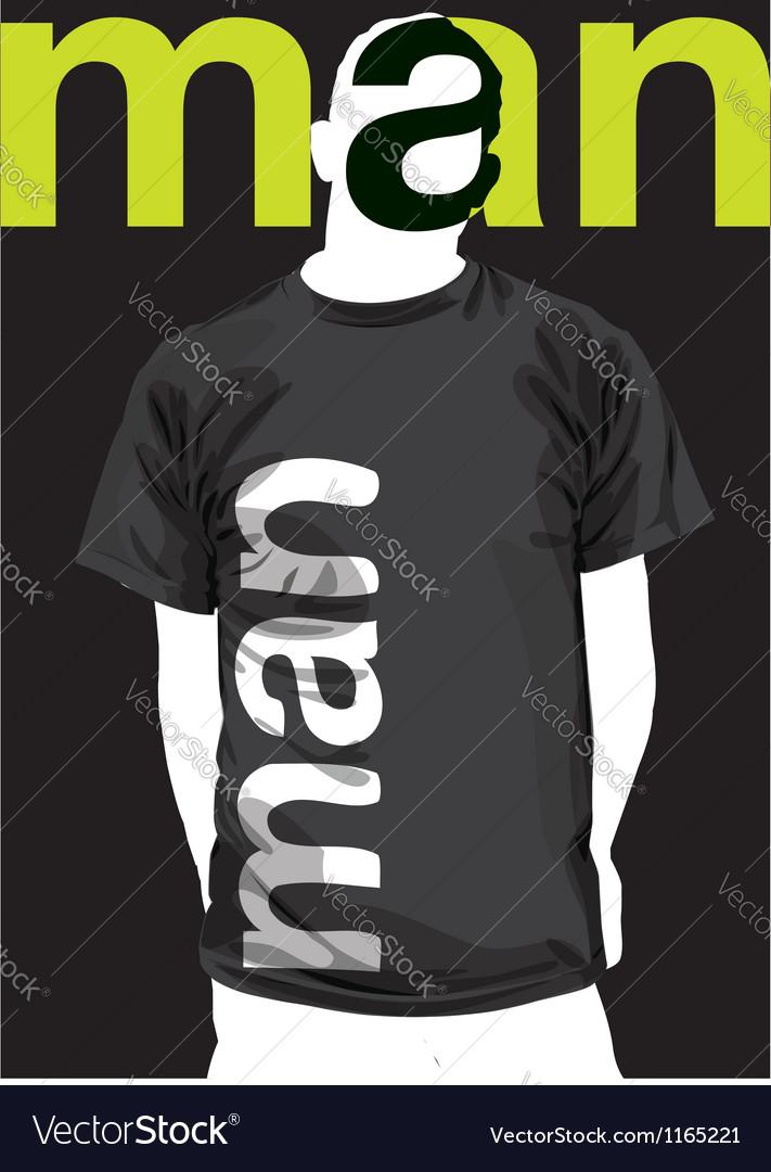 Fashion man vector | Price: 1 Credit (USD $1)