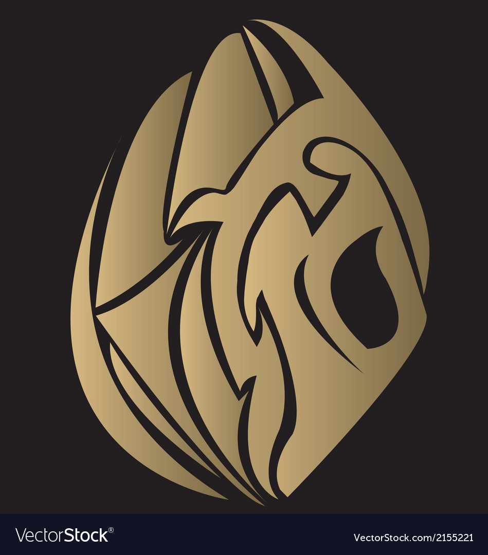 Golden lotus tattoo vector | Price: 1 Credit (USD $1)