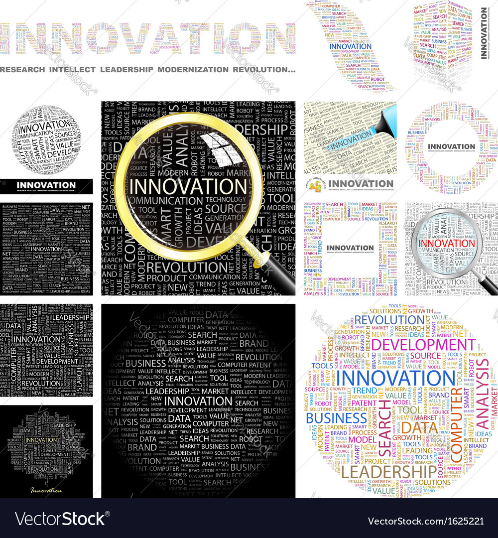 Innovation vector | Price: 1 Credit (USD $1)