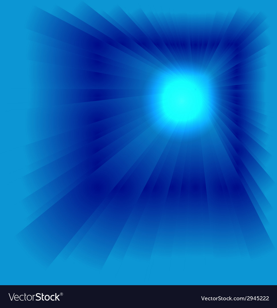 Blue star burst background vector   Price: 1 Credit (USD $1)