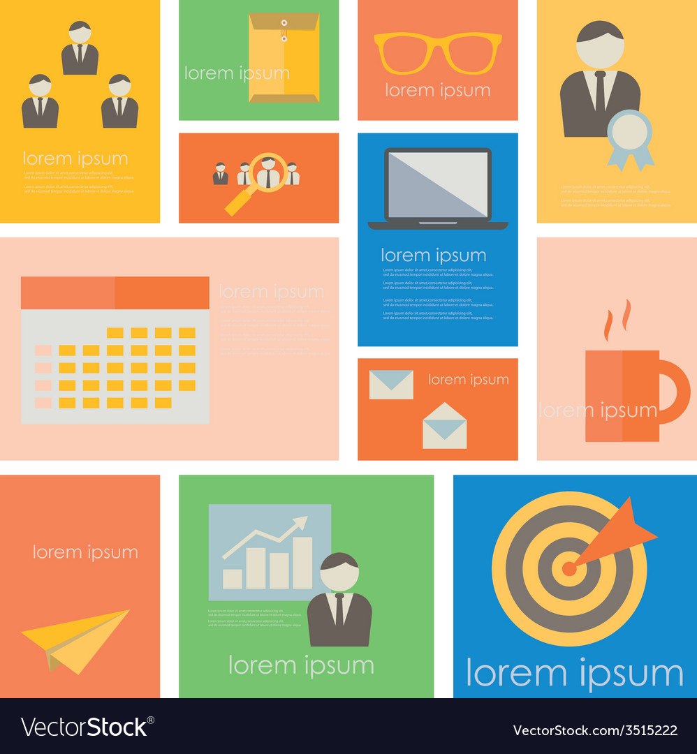 Icon businessoffice life vector | Price: 1 Credit (USD $1)