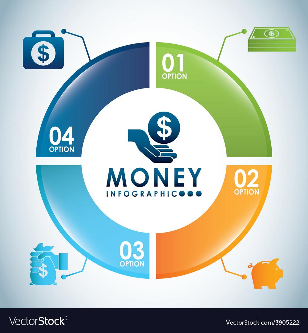 Money infographics vector   Price: 3 Credit (USD $3)