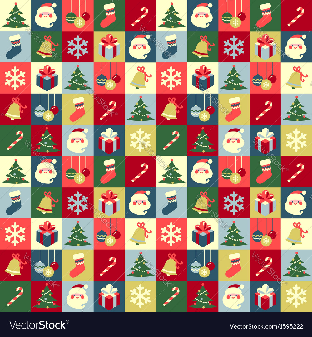 Pattern christmas vector | Price: 1 Credit (USD $1)