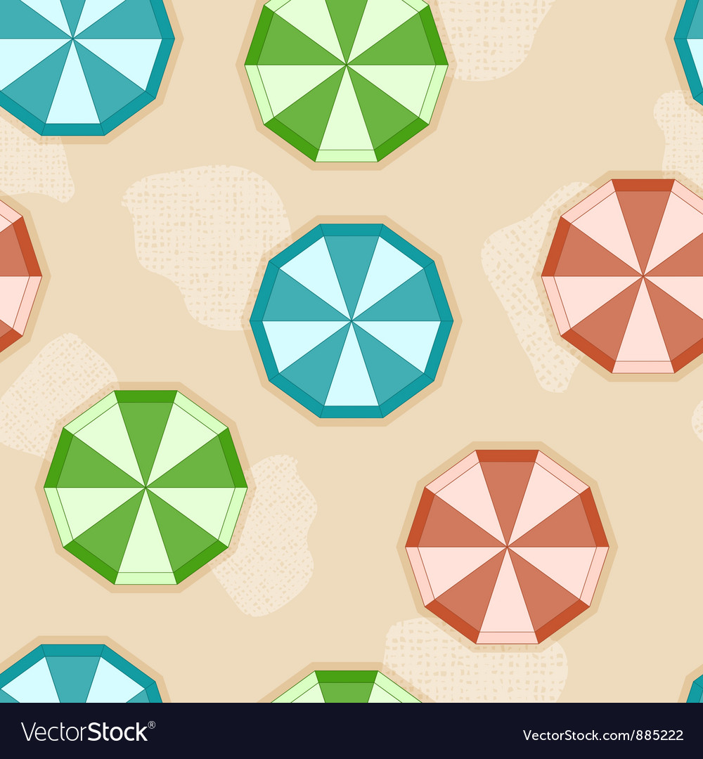 Sun umbrellas vector | Price: 1 Credit (USD $1)