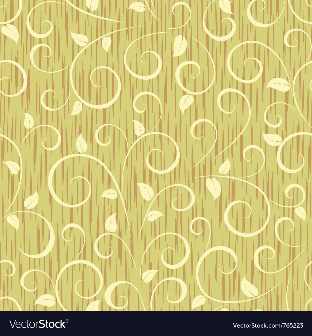 Floral seamless pattern vector | Price: 1 Credit (USD $1)