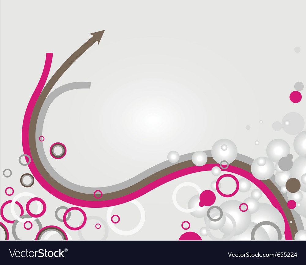 Abstract arrow lines background vector | Price: 1 Credit (USD $1)