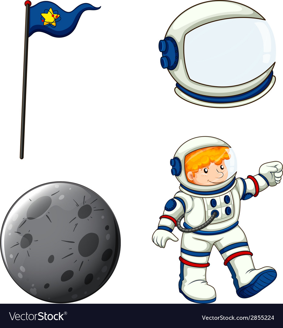 An astronaut vector | Price: 1 Credit (USD $1)