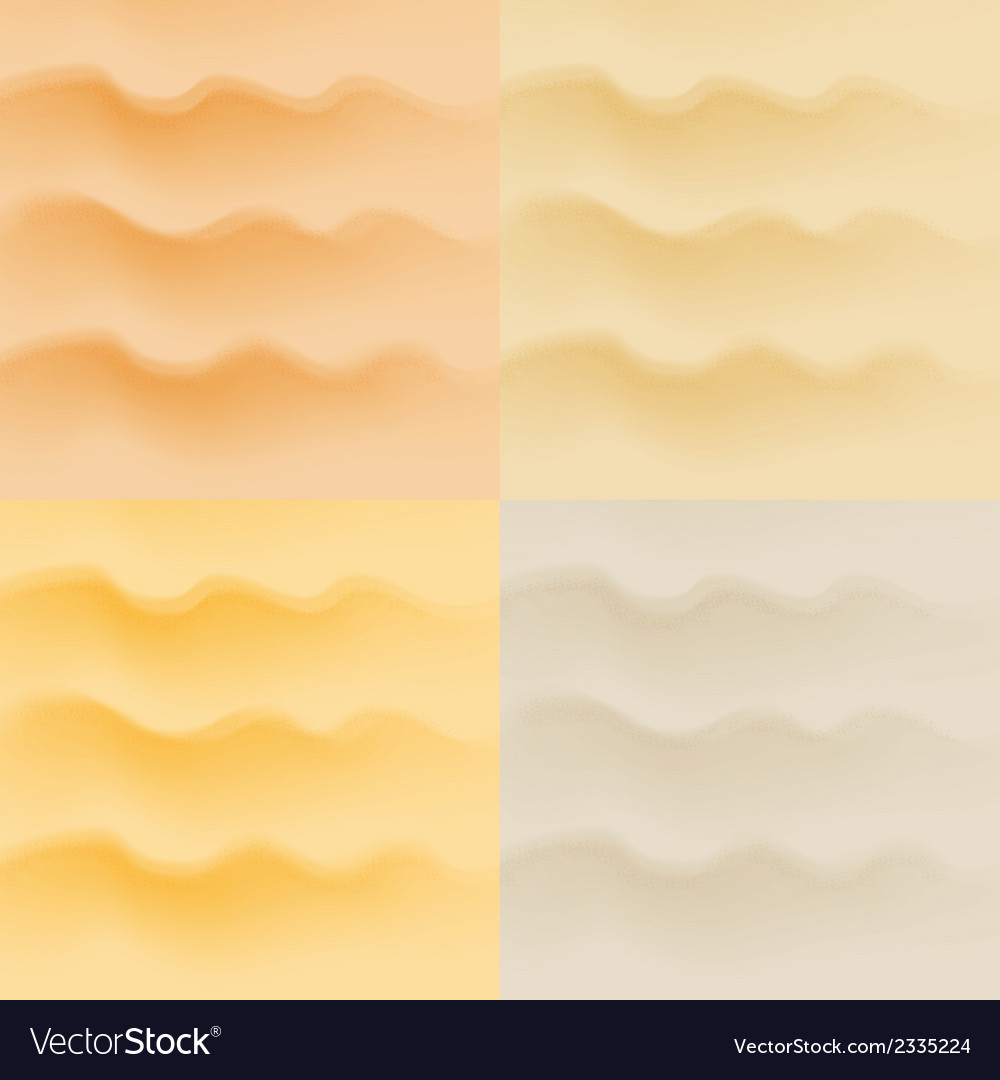 Set of sand patterns vector | Price: 1 Credit (USD $1)