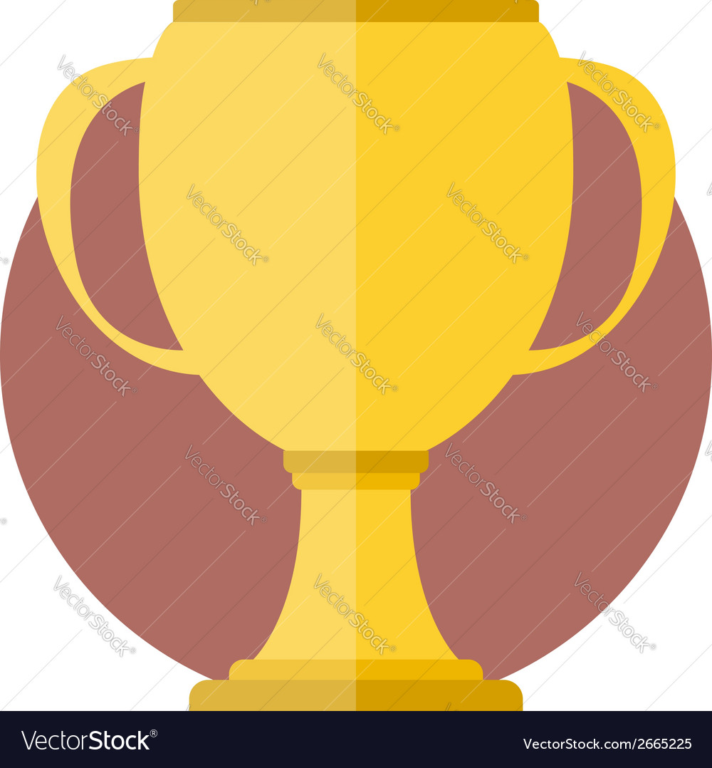 Golden cup vector | Price: 1 Credit (USD $1)