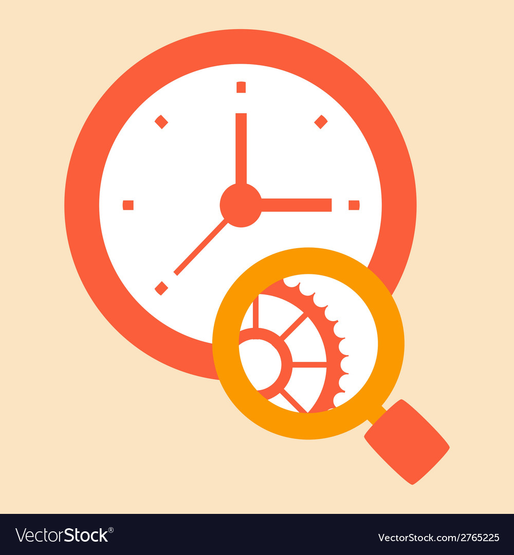 Time careful study vector | Price: 1 Credit (USD $1)