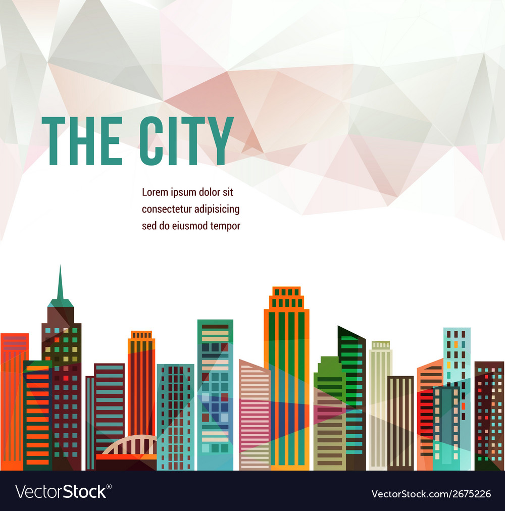 City - background vector | Price: 1 Credit (USD $1)