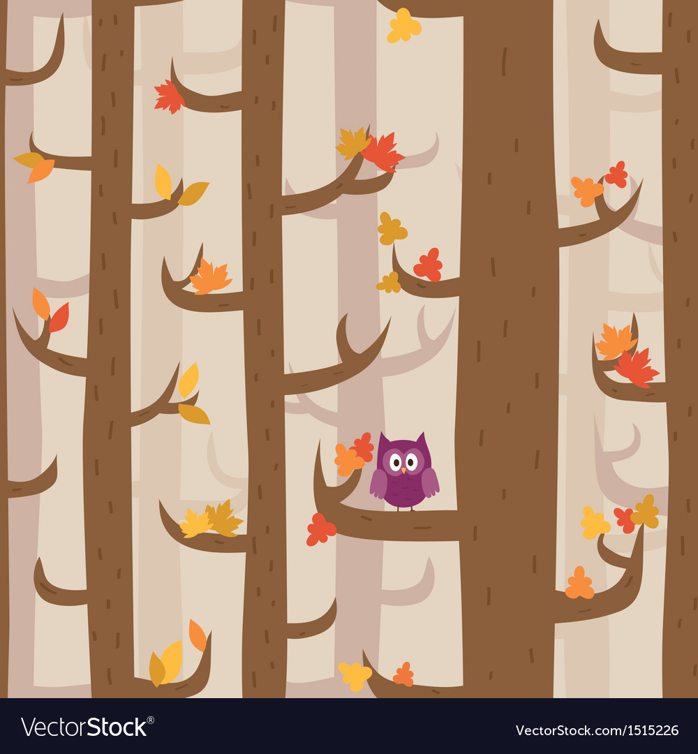 Pattern forest vector | Price: 3 Credit (USD $3)