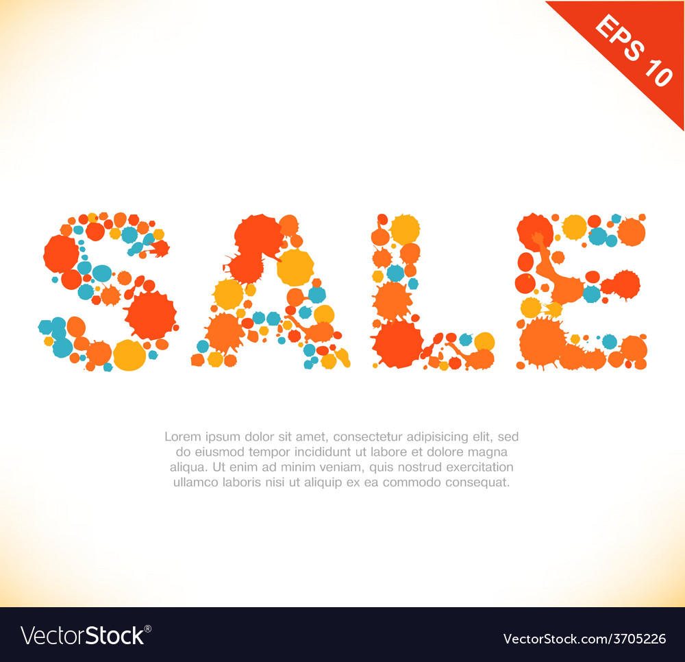 Shopping retail design vector | Price: 1 Credit (USD $1)