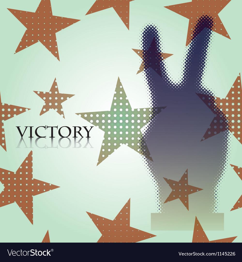 Victory vector | Price: 1 Credit (USD $1)
