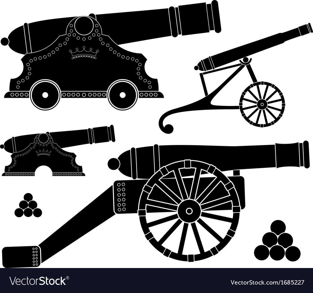 Ancient gun vector | Price: 1 Credit (USD $1)