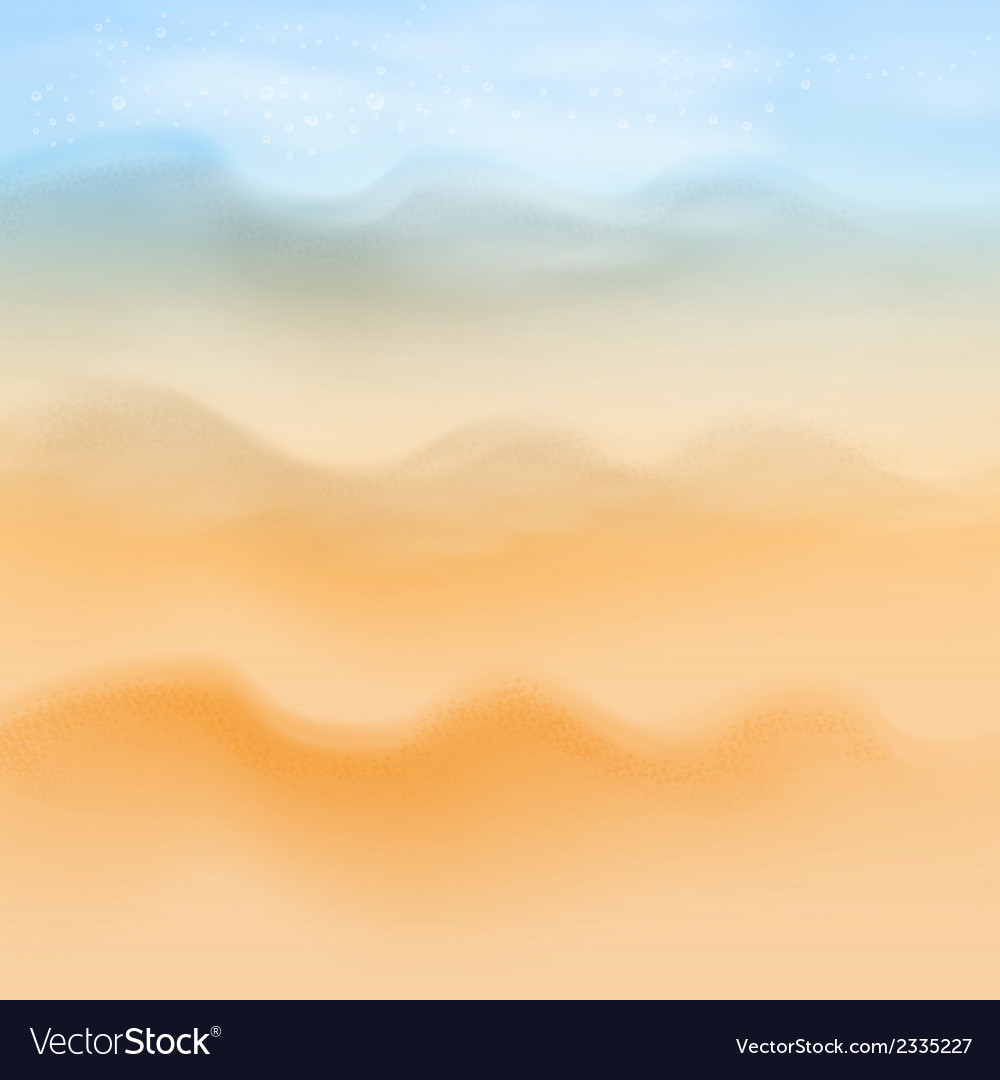 Summer sea beach background vector | Price: 1 Credit (USD $1)