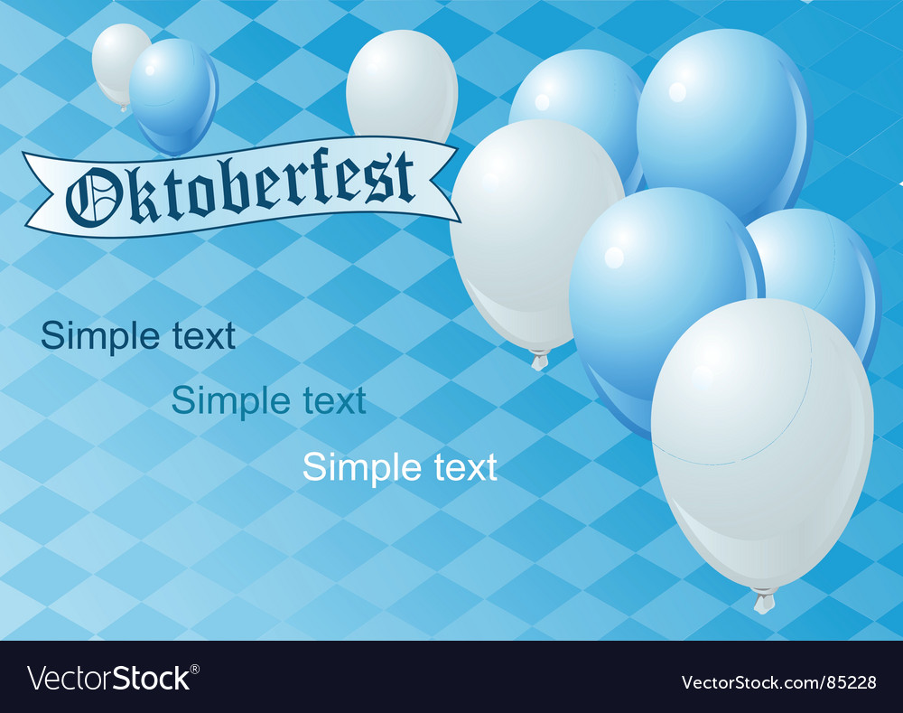 Oktoberfest celebration vector | Price: 1 Credit (USD $1)