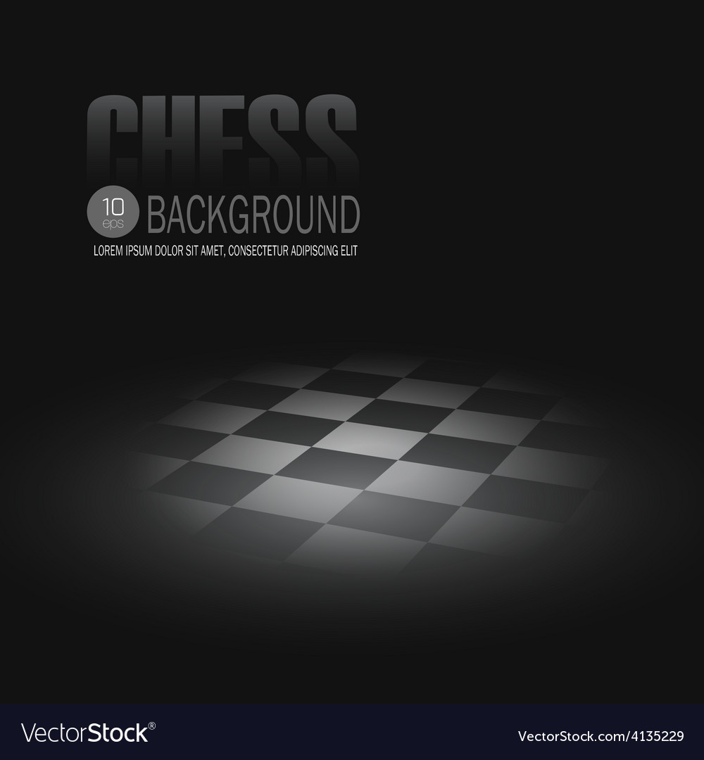 Chessboard background vector | Price: 1 Credit (USD $1)
