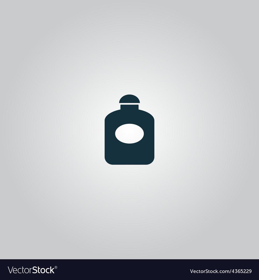 Retro perfume bottle flat vector | Price: 1 Credit (USD $1)