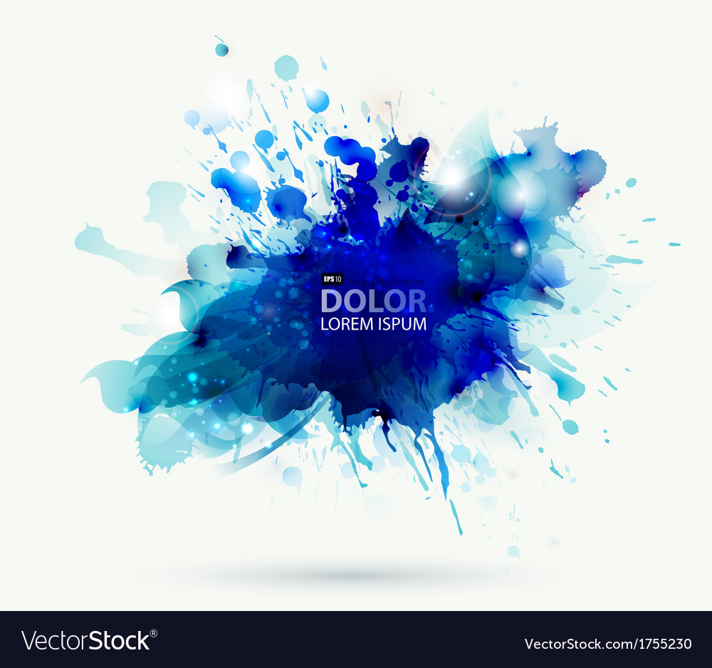 Abstract blots vector | Price: 1 Credit (USD $1)