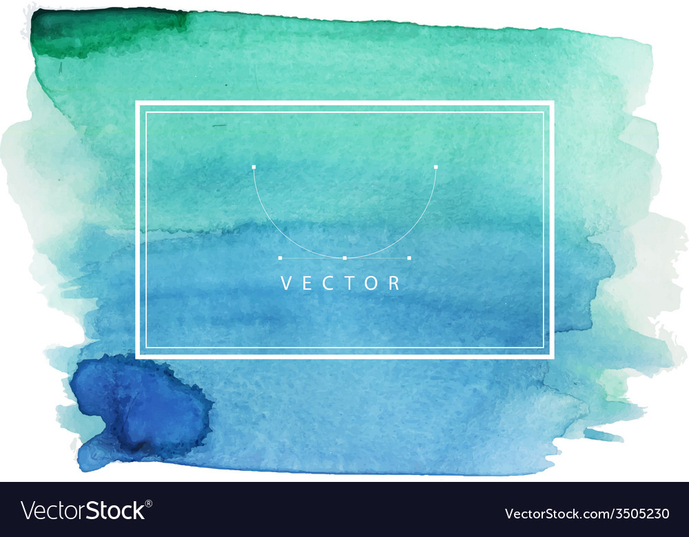 Hand painted watercolor texture vector | Price: 1 Credit (USD $1)