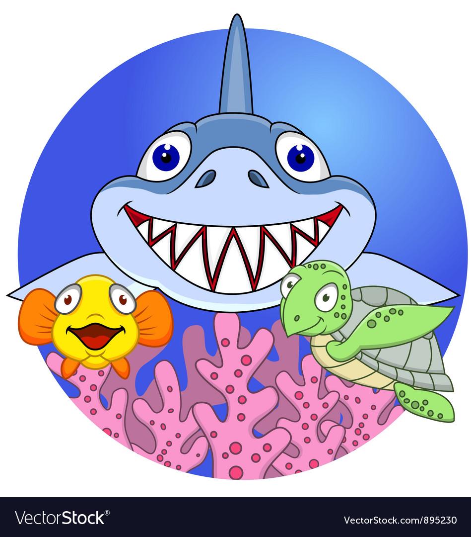 Marine life vector | Price: 3 Credit (USD $3)