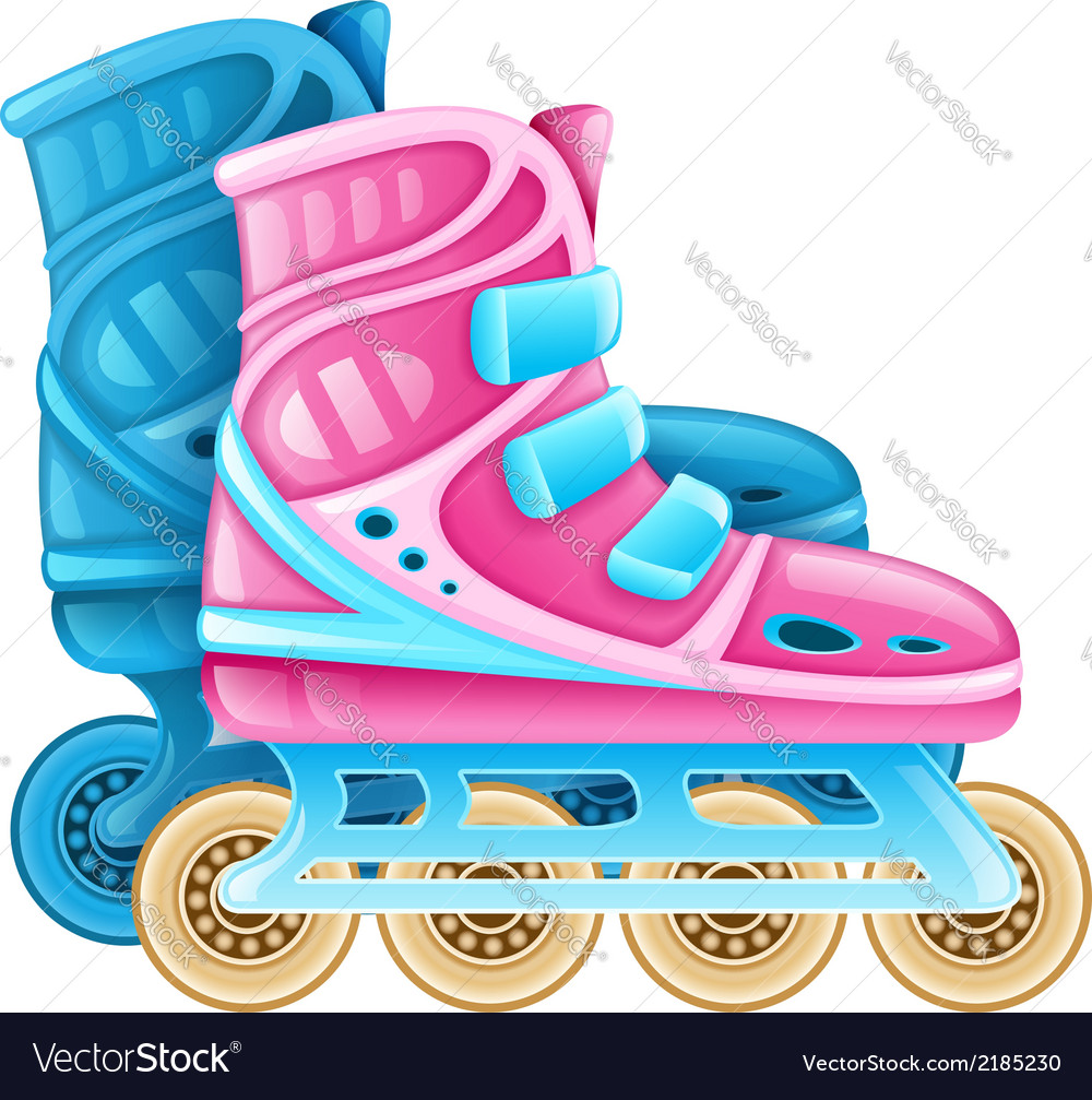 Roller skates for rolling vector | Price: 1 Credit (USD $1)