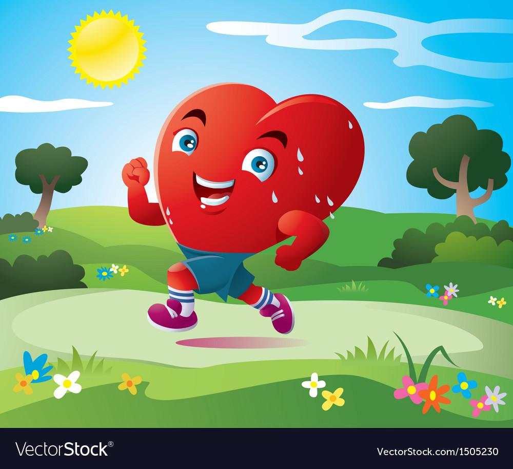 Sport of heart vector | Price: 3 Credit (USD $3)