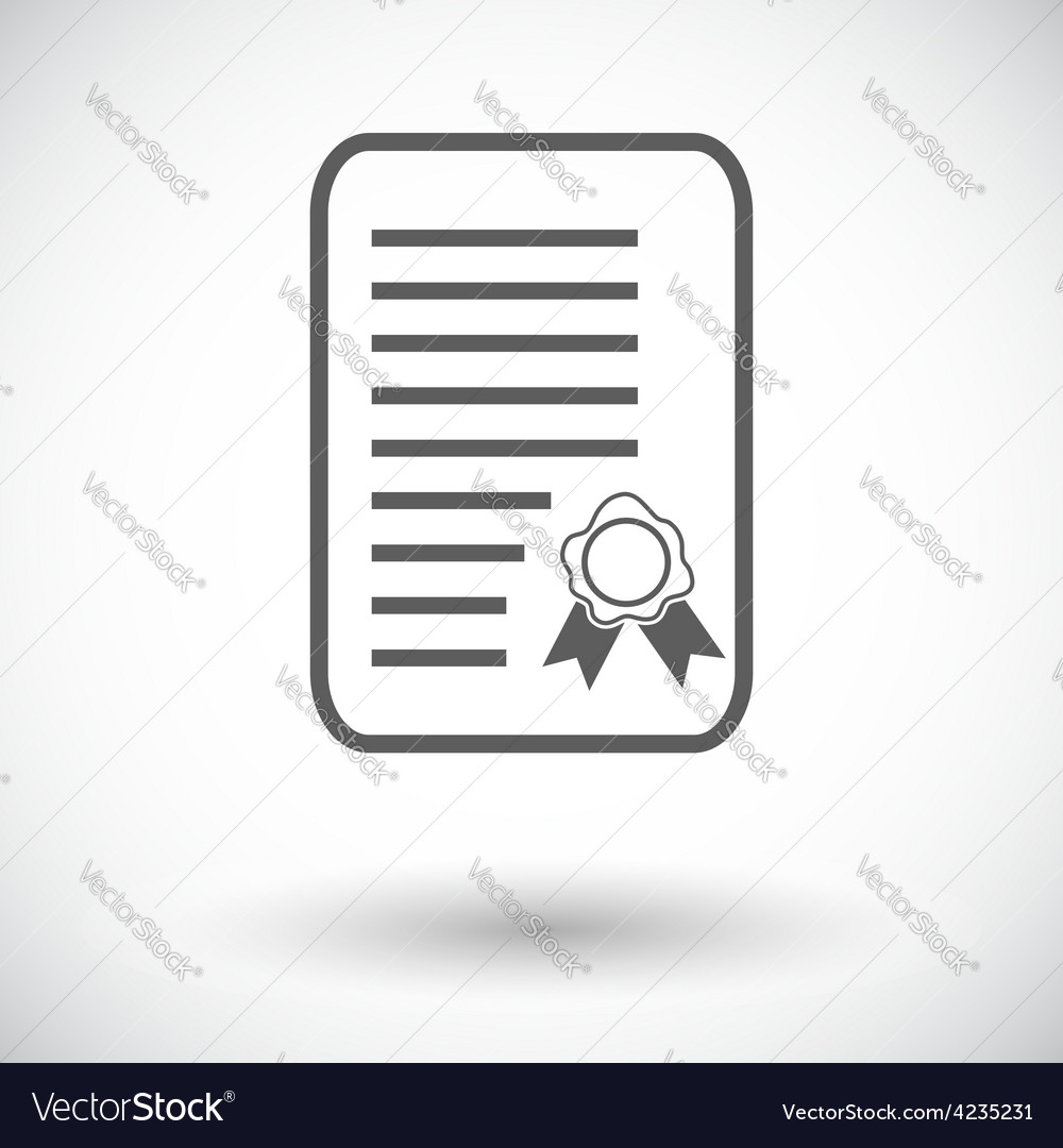 Diploma vector | Price: 1 Credit (USD $1)