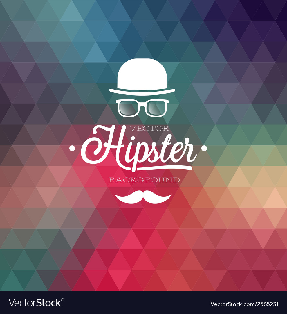 Hipster background cap vector | Price: 1 Credit (USD $1)