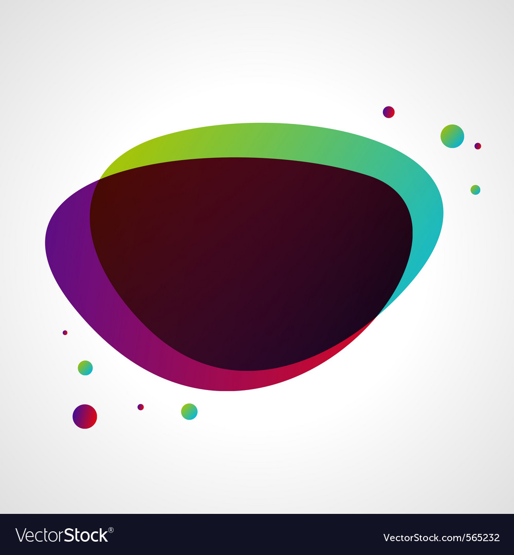Abstract bubble background vector | Price: 1 Credit (USD $1)
