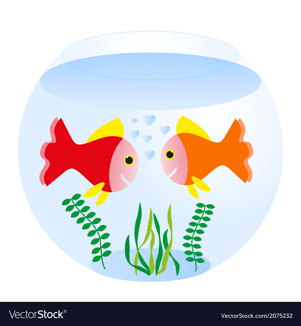 Fishbowl vector | Price: 1 Credit (USD $1)