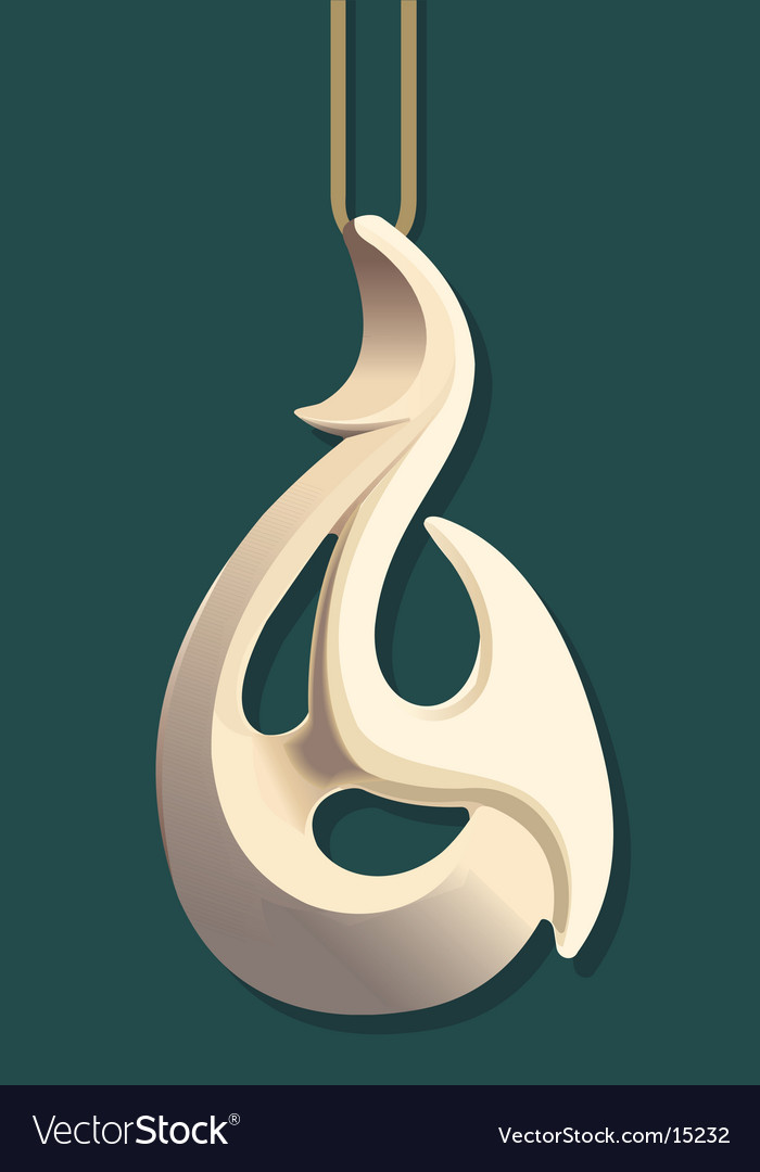 Maori bone carving vector | Price: 1 Credit (USD $1)