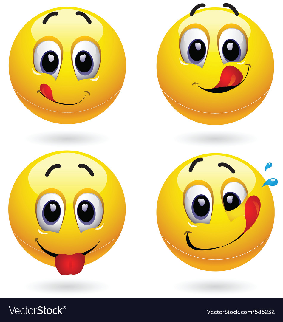 Smiley faces vector | Price: 3 Credit (USD $3)