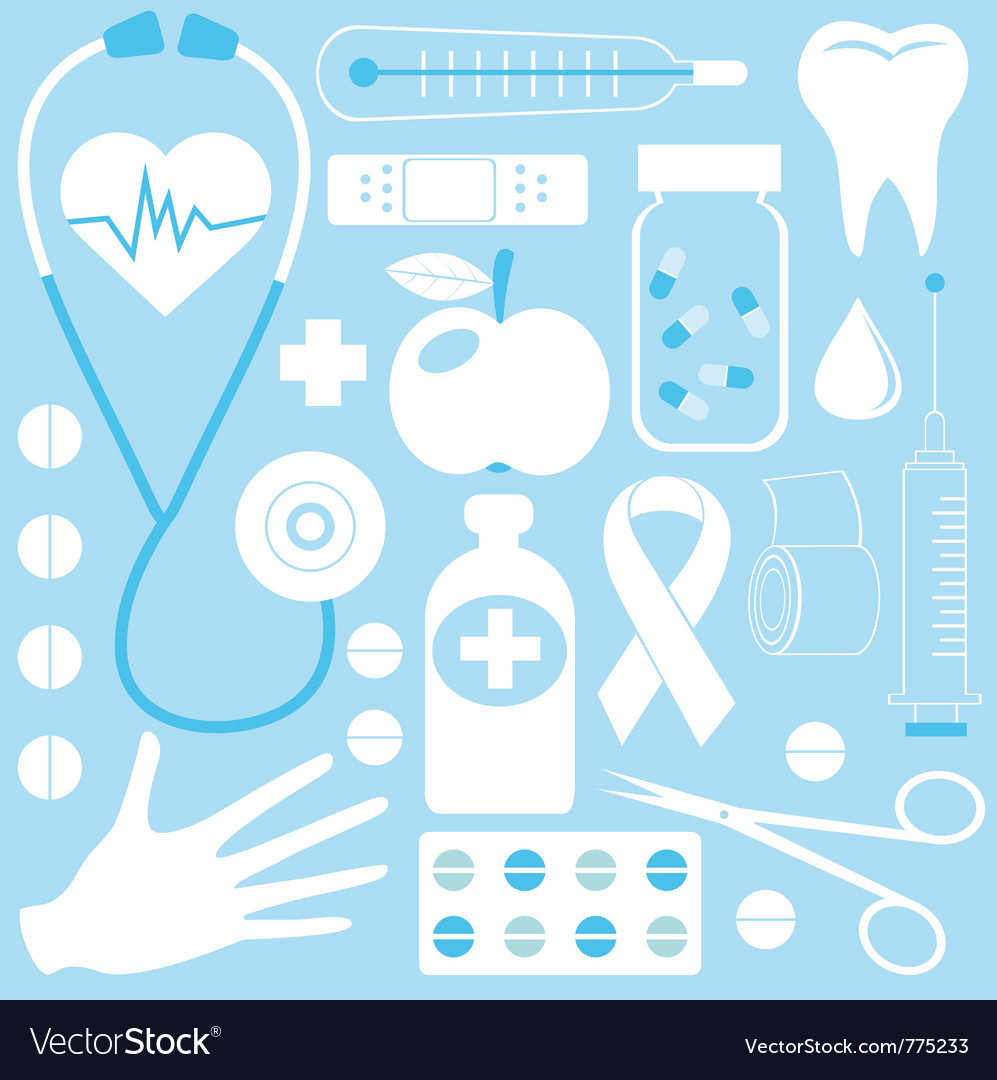 Medical pattern vector | Price: 1 Credit (USD $1)