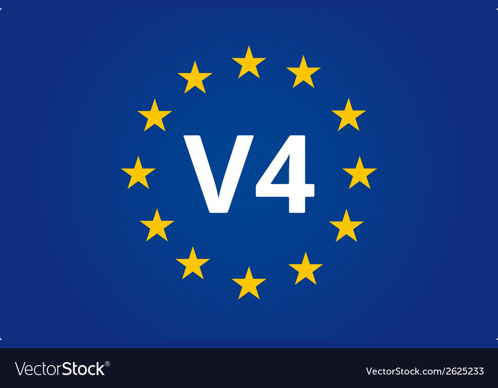 V4 eu flag vector | Price: 1 Credit (USD $1)