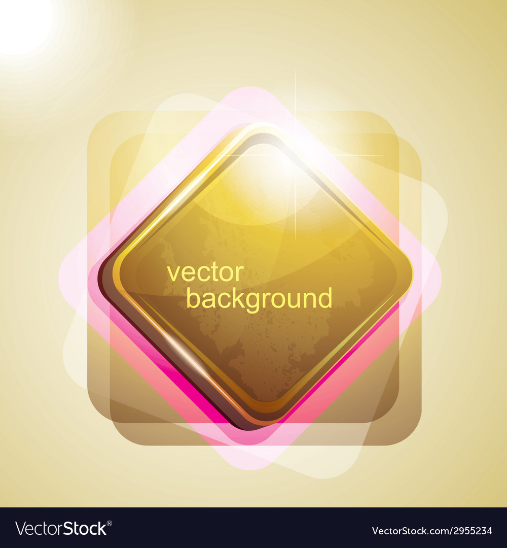 Background with shiny square vector | Price: 1 Credit (USD $1)