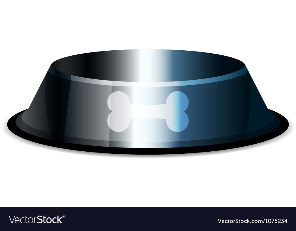Pet bowl vector | Price: 1 Credit (USD $1)