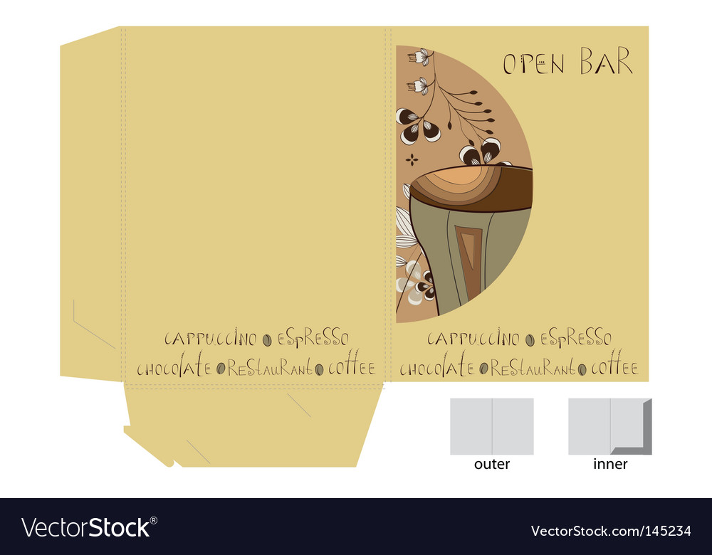 Template for decorative bag vector   Price: 1 Credit (USD $1)