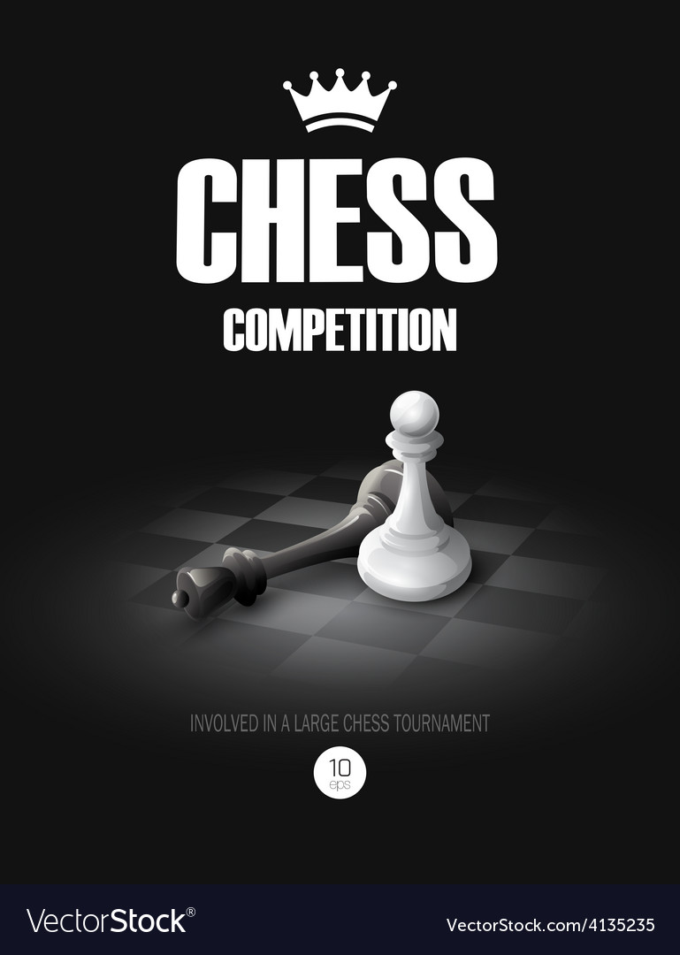 Winning chess concept background vector | Price: 3 Credit (USD $3)