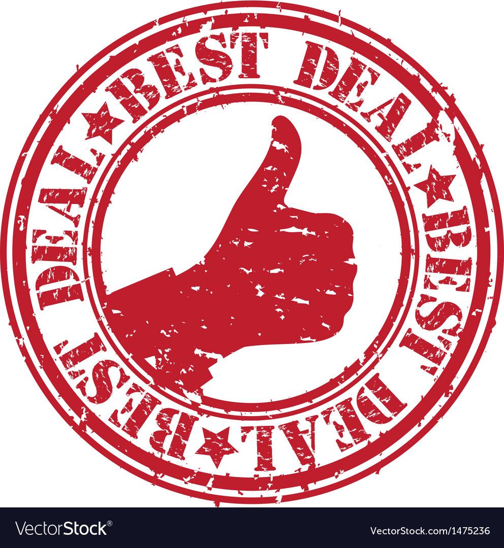 Best deal stamp vector | Price: 1 Credit (USD $1)