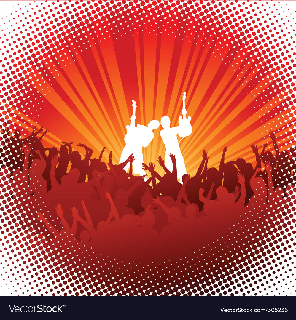 Concert vector | Price: 1 Credit (USD $1)