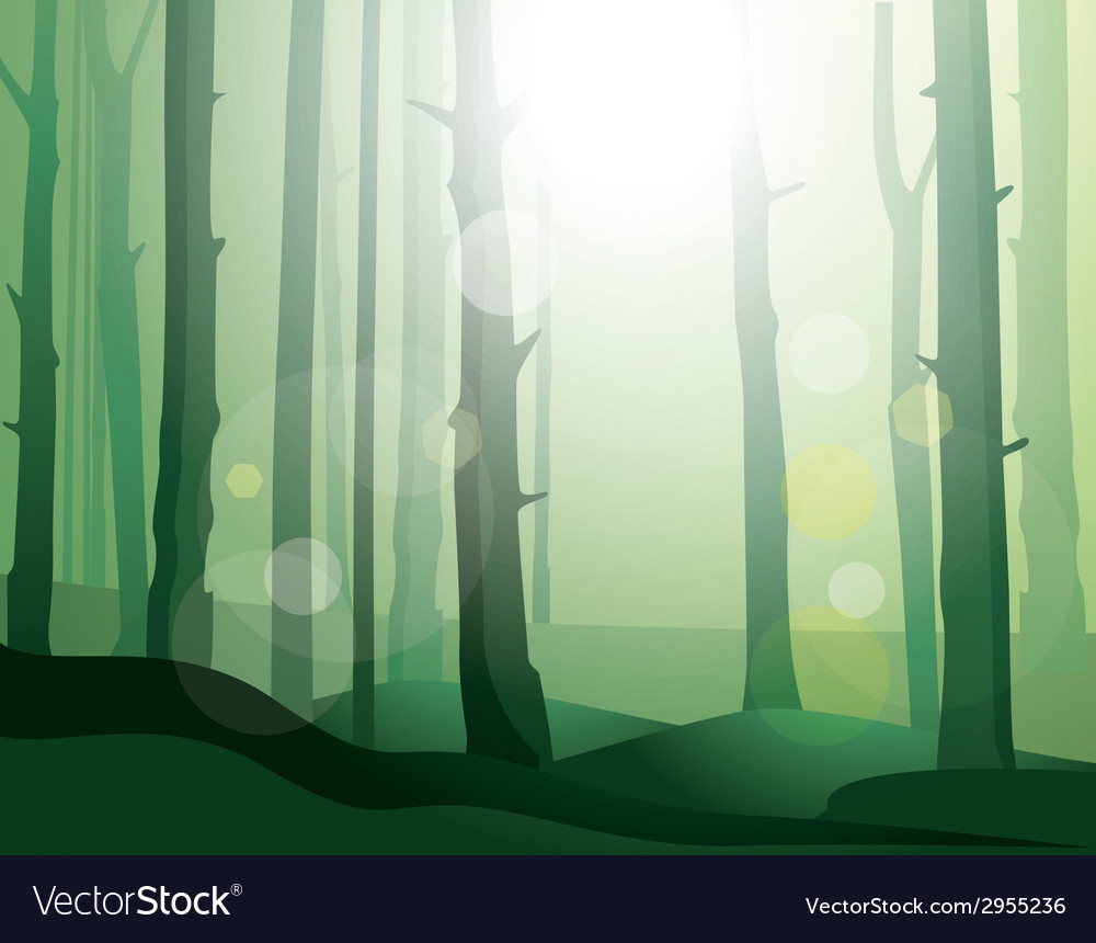 Enigmatic forest vector | Price: 1 Credit (USD $1)