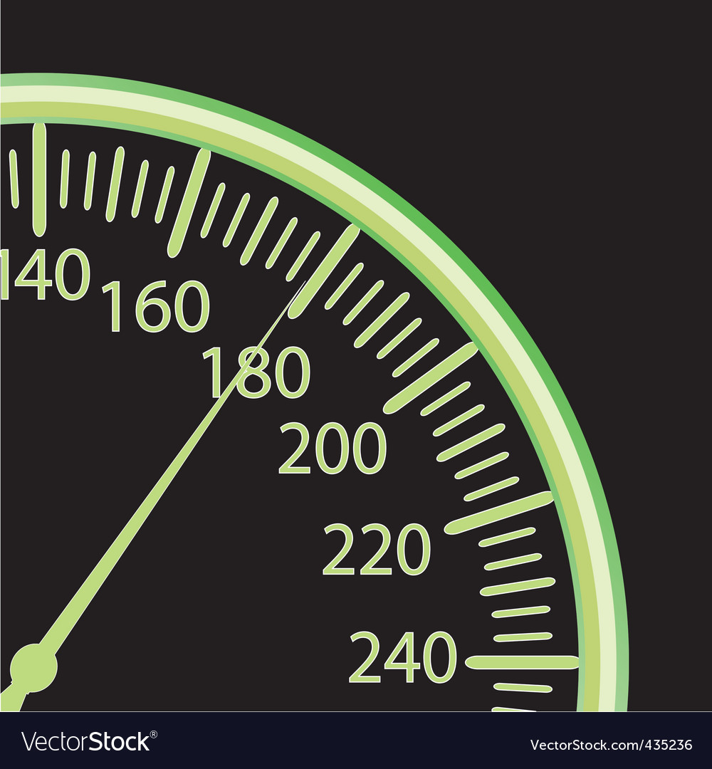 illustration of a speedometer vector | Price: 1 Credit (USD $1)