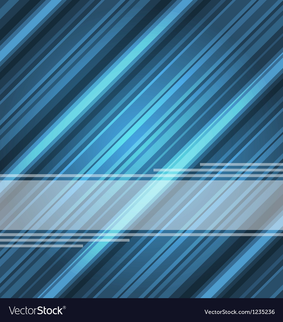 Techno abstract blue background striped texture vector | Price: 1 Credit (USD $1)