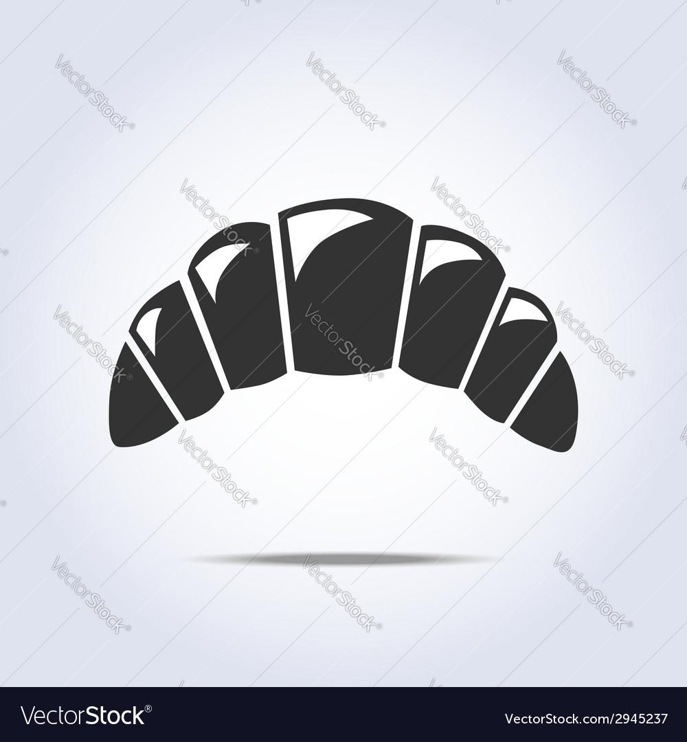Bagel simple symbol vector | Price: 1 Credit (USD $1)