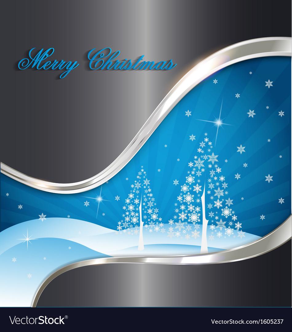 Elegant christmas decorative background vector | Price: 1 Credit (USD $1)