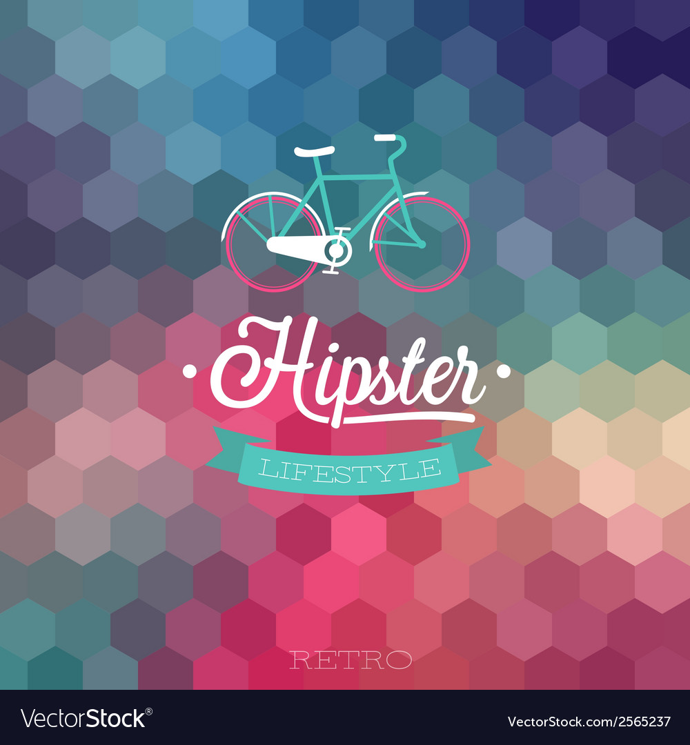 Hipster bicycle vector | Price: 1 Credit (USD $1)