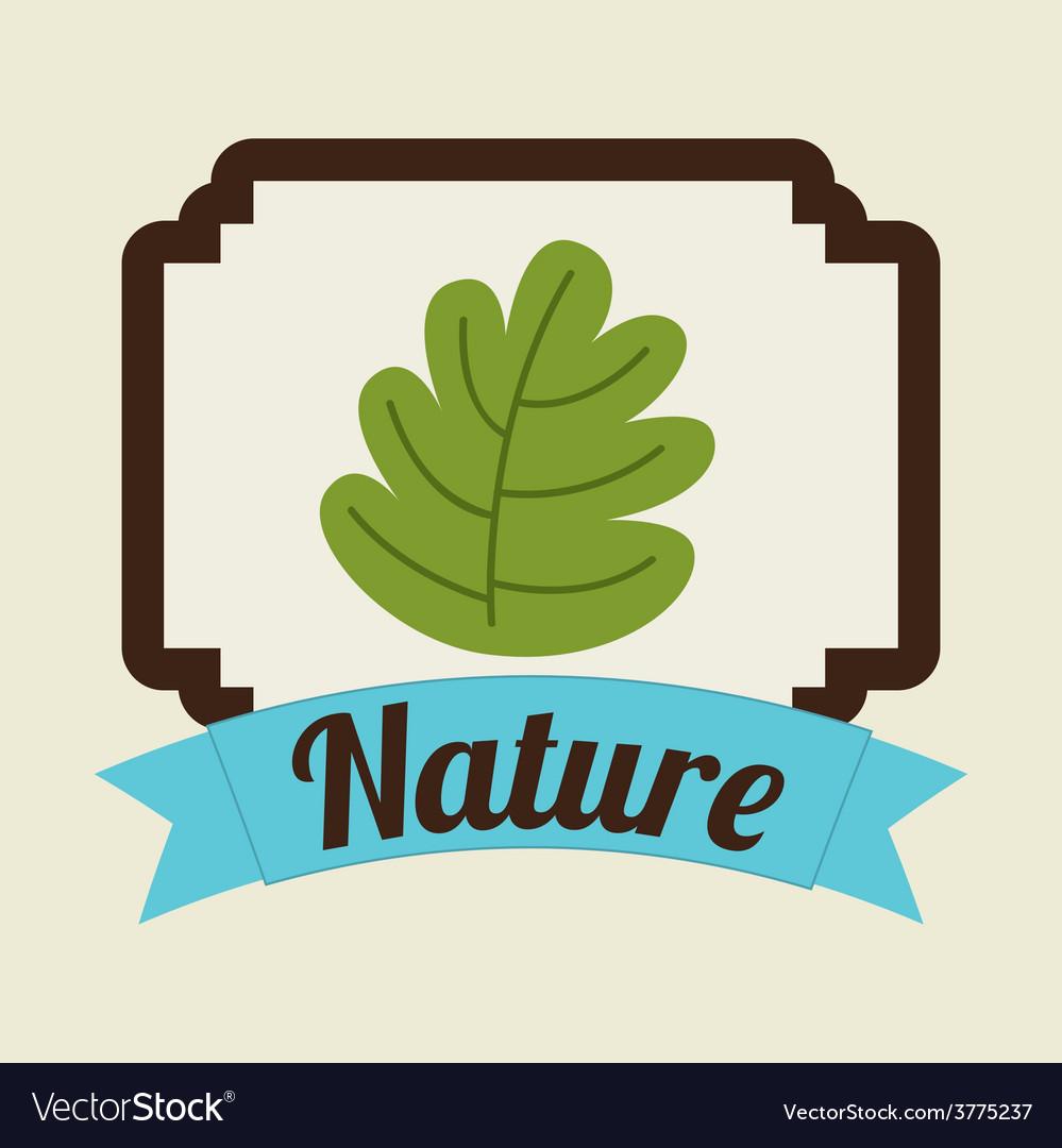 Nature icon vector | Price: 1 Credit (USD $1)